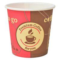 vidaXL Wegwerp koffiebekers papier 120 ml (4 oz) 1000 st