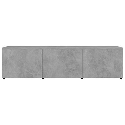 vidaXL Tv-meubel 120x34x30 cm spaanplaat betongrijs