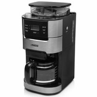 Princess Grind & Brew Koffiezetapparaat Roma 1050 W zwart