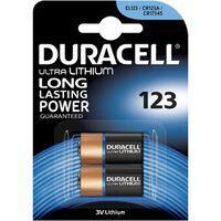 Duracell Lithium CR123A DL123 CR17345 batterij 3V 2 stuks
