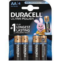 Duracell Ultra Power AA - Met Powercheck - 1500/lr6 - 4 Stuks