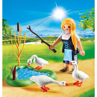 Playmobil 70083 Ganzenhoedster In Een Ei