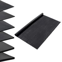 vidaXL Vloermat anti-slip 1 mm 1,2x5 m rubber glad