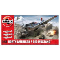 Airfix - North American F51d Mustang (af05136)