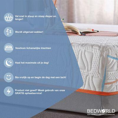 Bedworld Matras 130 X 200 Cm - Koudschuimmatras