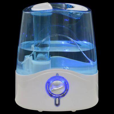 vidaXL Ultrasone bevochtiger met koele mist en nachtlamp 6 L 300 ml/u