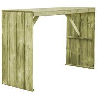 vidaXL Bartafel 170x60x110 cm geïmpregneerd grenenhout