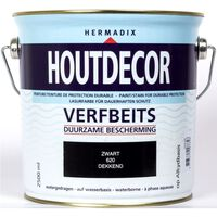 Houtdecor 620 zwart 2500 ml