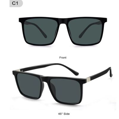 Polariserende zonnebril Zwart / Grijs