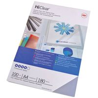 GBC Inbindomslagset HiClear A4 240 micron