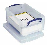 Really Useful Box 9 liter, transparant