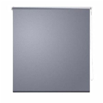 Rolgordijn verduisterend 140 x 230 cm grijs