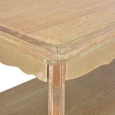 vidaXL Salontafel 87,5x42x44 cm massief grenenhout