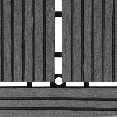 vidaXL 22 st Terrastegels 30x30 cm 2 m² HKC grijs