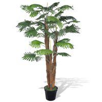 Kunstpalmboom met pot 180 cm