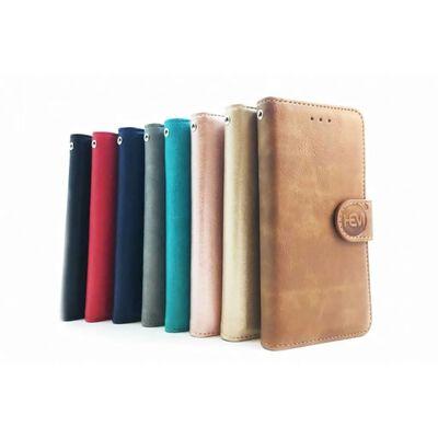 Apple Iphone 12 Pro  - Bronzed Brown Leren Portemonnee Hoesje -