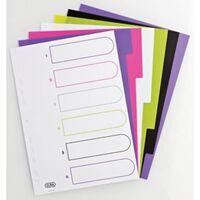 Elba Tabbladen MyColour 6 tabs, geassorteerde kleuren