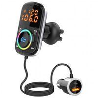 FM-zender USB MP3 Bluetooth PD / QC voor in de auto