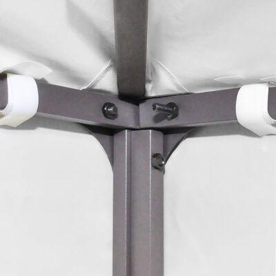 vidaXL Prieeldak 2-laags 310 g/m² 3x3 m wit