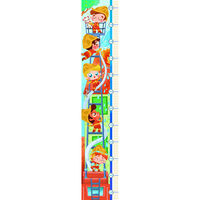 Clementoni groeimeter en legpuzzel Measure Me brandweer 140 cm