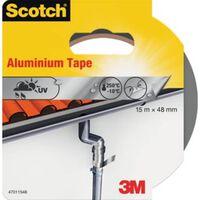 Scotch reparatieplakband aluminium, ft 48 mm x 15 m, blisterverpakking