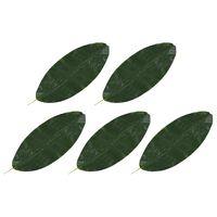 vidaXL Kunstbladeren banaan 5 st 80 cm groen
