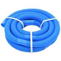 vidaXL Zwembadslang 38 mm 6 m blauw