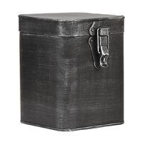 LABEL51 Opbergbox L 15x16x19 cm antiekzwart