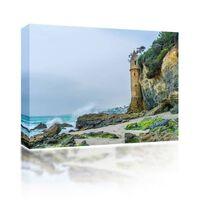 Sound Art Canvas + Bluetooth Speaker Castle On The Beach