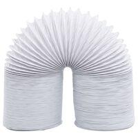 vidaXL Afzuigslang 6 m 10 cm PVC