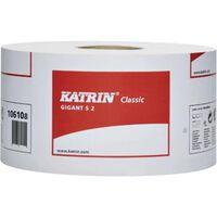 Katrin toiletpapier Classic Gigant, 2-laags, 1600 vellen, pak van 1...