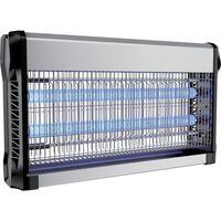V-tac Vt-3230 Insectenlamp - 2*15w - 100m Bereik - Uv Licht - Grijs