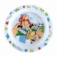 Asterix & Obelix Bord kunststof 22 cm wit