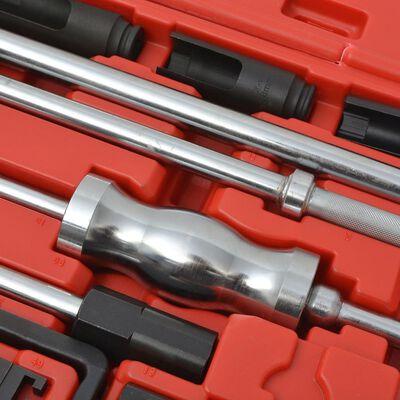 vidaXL Diesel injector trekker set staal