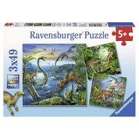 Puzzel Dinosauri?rs 3x49