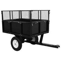vidaXL Kiepwagen voor zitmaaiers 300 kg