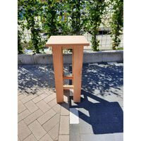 KSM-steigerhout - 10 stuks Barkruk Easy van Douglas hout