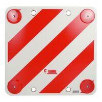 Carpoint markeringsbord met reflectoren 50 x 50 cm wit/rood