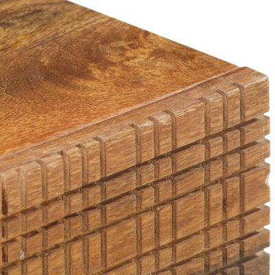 vidaXL Salontafel 90x45x40 cm massief mangohout