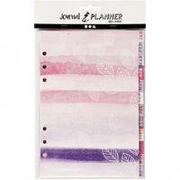 dagboek tabbladen ringband 142 x 210 mm 12 stuks aquarel