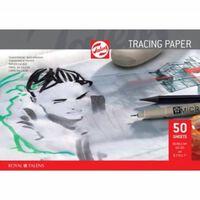 Talens kalkpapier 90 g/m² ft A4, blok met 50 vellen