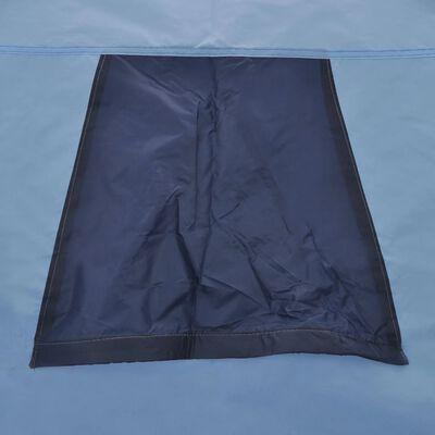 vidaXL Tent 3-persoons blauw