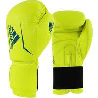 adidas Speed 50 bokshandschoenen geel/blauw maat 16 oz