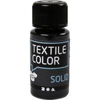 Textielverf Solid 50 Ml Zwart